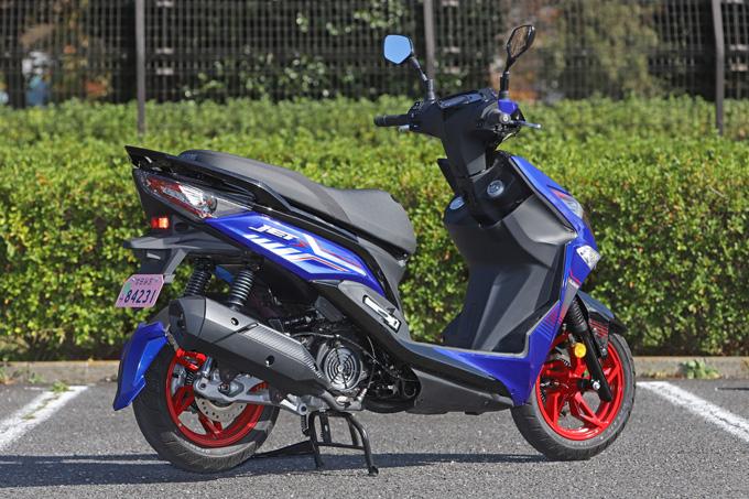 【SYM ジェットS 試乗記】軽いハンドリングと強力なダッシュが楽しい台湾発の125ccスポーツスクーターの02画像