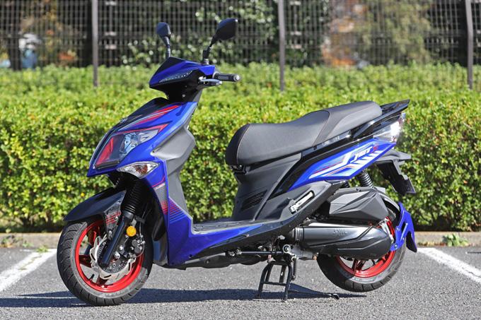 【SYM ジェットS 試乗記】軽いハンドリングと強力なダッシュが楽しい台湾発の125ccスポーツスクーターの03画像