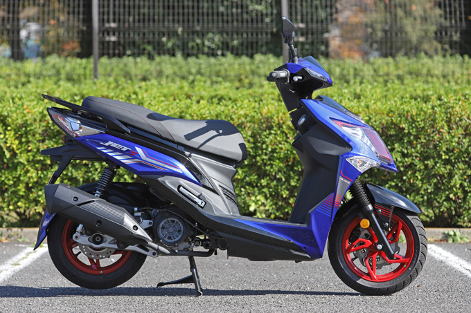 【SYM ジェットS 試乗記】軽いハンドリングと強力なダッシュが楽しい台湾発の125ccスポーツスクーターの06画像