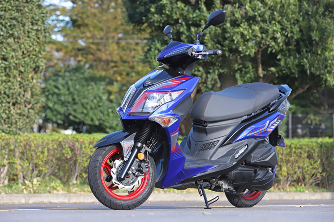 【SYM ジェットS 試乗記】軽いハンドリングと強力なダッシュが楽しい台湾発の125ccスポーツスクーターの10画像
