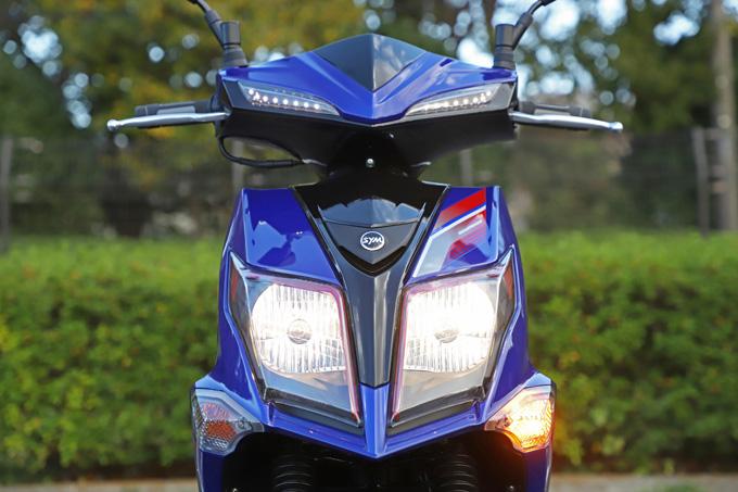 【SYM ジェットS 試乗記】軽いハンドリングと強力なダッシュが楽しい台湾発の125ccスポーツスクーターの11画像