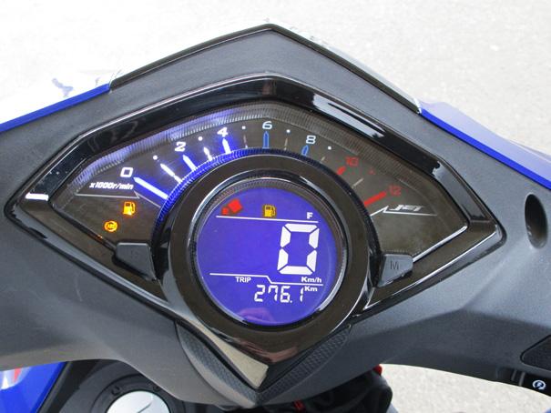 【SYM ジェットS 試乗記】軽いハンドリングと強力なダッシュが楽しい台湾発の125ccスポーツスクーターの12画像