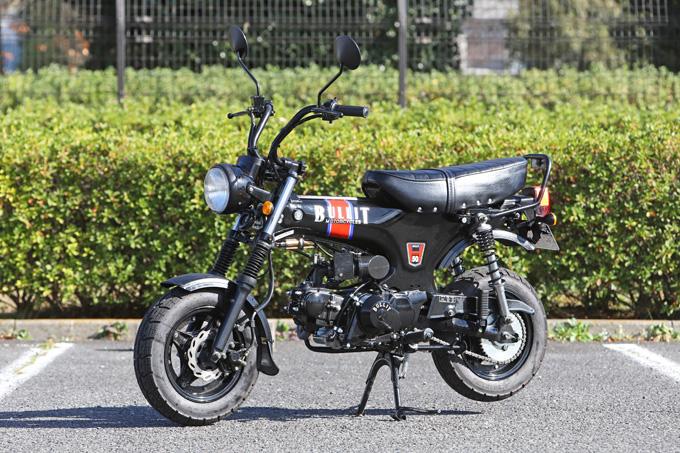 【ブリット ヘリテイジ50 試乗記】バイクの楽しみ方の原点を知るベルギー発の50ccレジャーマシンの03画像