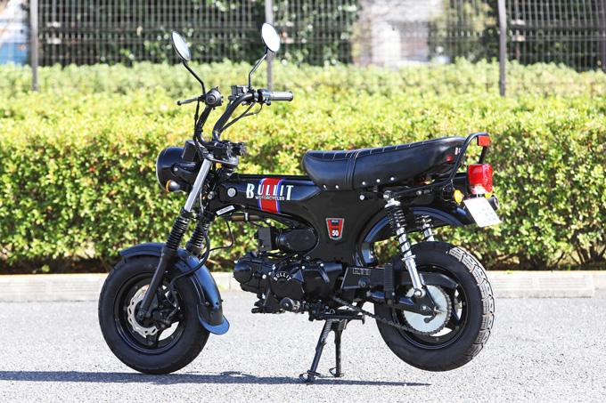 【ブリット ヘリテイジ50 試乗記】バイクの楽しみ方の原点を知るベルギー発の50ccレジャーマシンの04画像