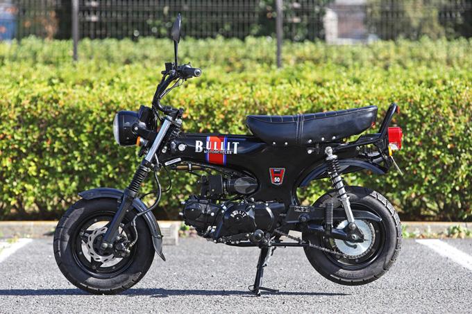 【ブリット ヘリテイジ50 試乗記】バイクの楽しみ方の原点を知るベルギー発の50ccレジャーマシンの07画像