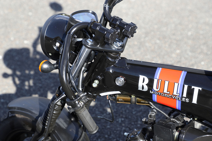 【ブリット ヘリテイジ50 試乗記】バイクの楽しみ方の原点を知るベルギー発の50ccレジャーマシンの15画像