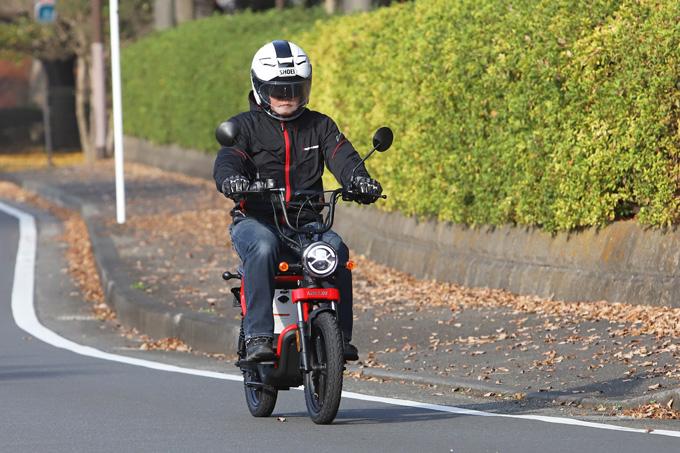 【ゴッチア GEV600 試乗記】イタリアンデザインが魅力の気軽に乗れる電動スクーターの05画像