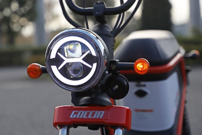 【ゴッチア GEV600 試乗記】イタリアンデザインが魅力の気軽に乗れる電動スクーターの10画像