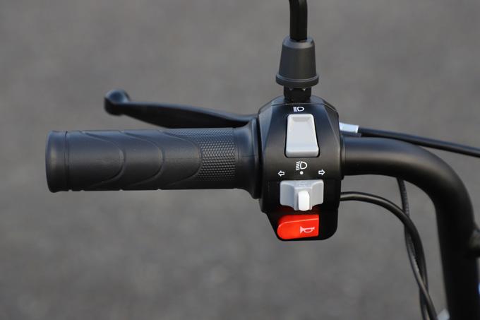 【ゴッチア GEV600 試乗記】イタリアンデザインが魅力の気軽に乗れる電動スクーターの13画像