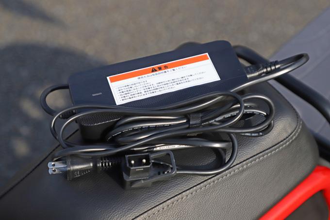 【ゴッチア GEV600 試乗記】イタリアンデザインが魅力の気軽に乗れる電動スクーターの19画像