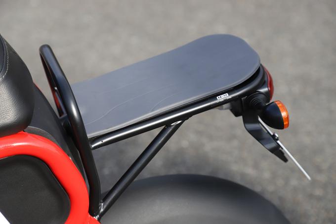 【ゴッチア GEV600 試乗記】イタリアンデザインが魅力の気軽に乗れる電動スクーターの21画像