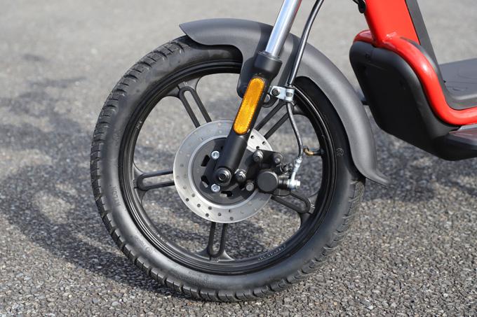 【ゴッチア GEV600 試乗記】イタリアンデザインが魅力の気軽に乗れる電動スクーターの22画像