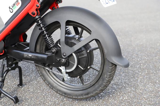 【ゴッチア GEV600 試乗記】イタリアンデザインが魅力の気軽に乗れる電動スクーターの23画像