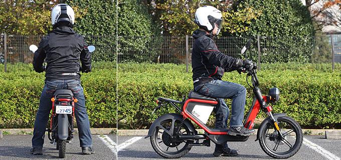 【ゴッチア GEV600 試乗記】イタリアンデザインが魅力の気軽に乗れる電動スクーターの25画像