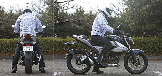 【スズキ ジクサー250 試乗記】軽くてパワフル!! 気軽に乗れるコスパの高いライトウェイトスポーツの22画像