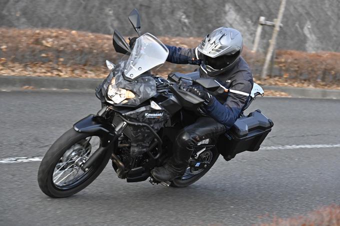 【カワサキ ヴェルシスX250ツアラー 試乗記】長距離&悪条件で真価を発揮する、250ccアドベンチャーツアラーの06画像