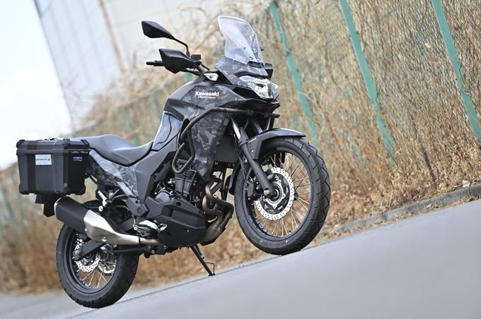 【カワサキ ヴェルシスX250ツアラー 試乗記】長距離&悪条件で真価を発揮する、250ccアドベンチャーツアラーの10画像