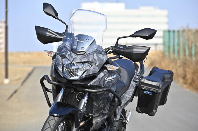 【カワサキ ヴェルシスX250ツアラー 試乗記】長距離&悪条件で真価を発揮する、250ccアドベンチャーツアラーの11画像