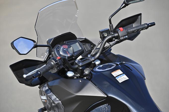 【カワサキ ヴェルシスX250ツアラー 試乗記】長距離&悪条件で真価を発揮する、250ccアドベンチャーツアラーの13画像