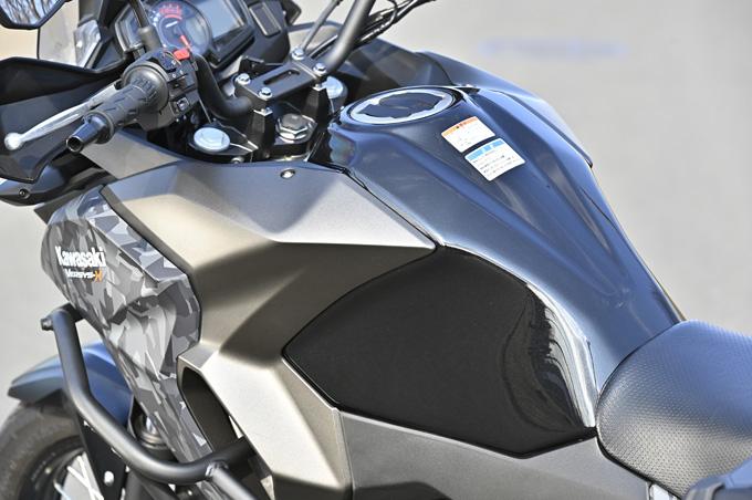 【カワサキ ヴェルシスX250ツアラー 試乗記】長距離&悪条件で真価を発揮する、250ccアドベンチャーツアラーの15画像