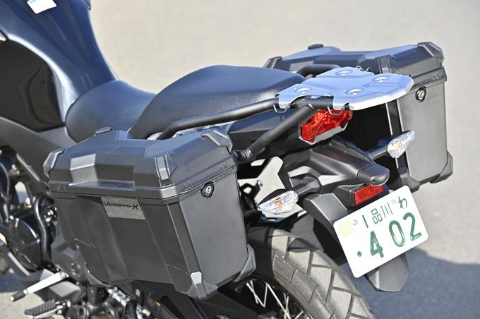 【カワサキ ヴェルシスX250ツアラー 試乗記】長距離&悪条件で真価を発揮する、250ccアドベンチャーツアラーの17画像