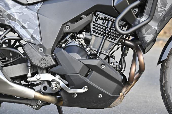 【カワサキ ヴェルシスX250ツアラー 試乗記】長距離&悪条件で真価を発揮する、250ccアドベンチャーツアラーの21画像