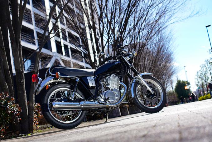 【ヤマハ SR400 試乗記】未来永劫語り継がれるシアワセバイク01画像