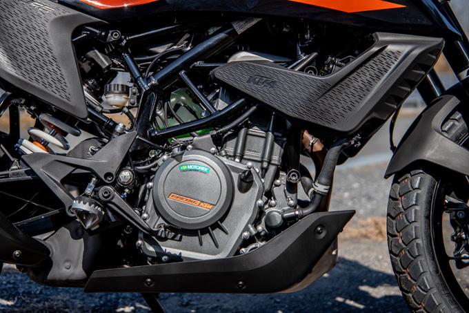 【KTM 250アドベンチャー 試乗記】手堅い構成と価格で、日本車勢に真っ向勝負を挑むの20画像