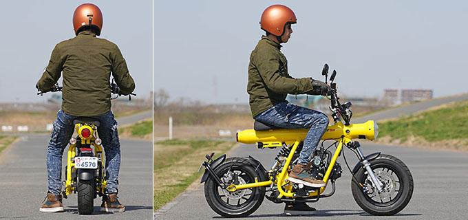【フェニックスエンジニアリング ガンナー50 試乗記】そのまま乗って良し、カスタムも楽しめる大人のオモチャの09画像