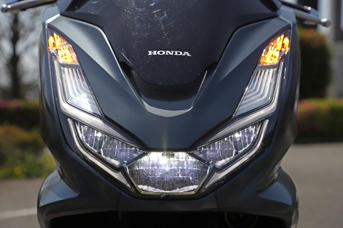 【ホンダ PCX160 試乗記】人気の軽2輪スクーターがフルモデルチェンジ!排気量アップ&各部がさらに進化して登場の11画像