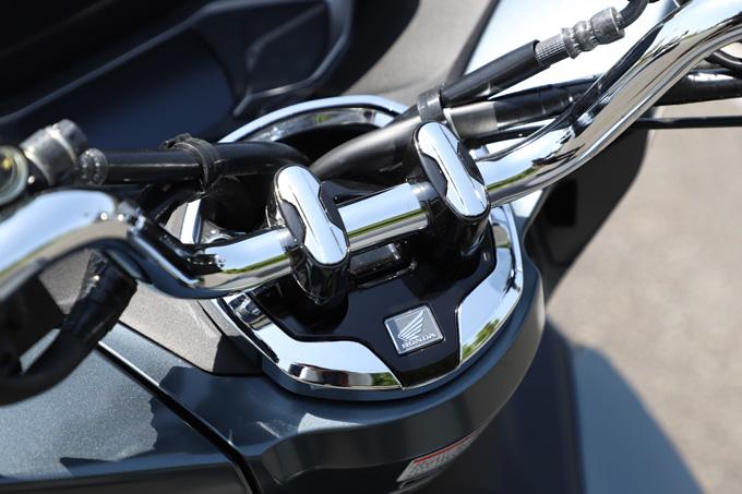 【ホンダ PCX160 試乗記】人気の軽2輪スクーターがフルモデルチェンジ!排気量アップ&各部がさらに進化して登場の13画像