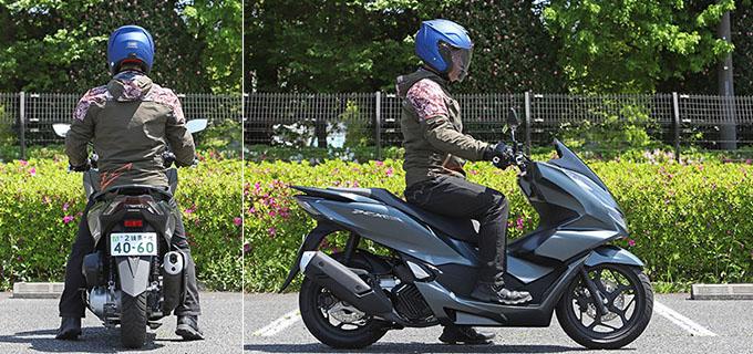 【ホンダ PCX160 試乗記】人気の軽2輪スクーターがフルモデルチェンジ!排気量アップ&各部がさらに進化して登場の27画像