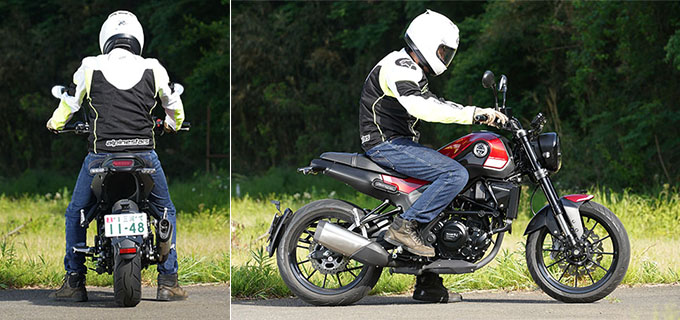 【ベネリ レオンチーノ250 試乗記】独特な造形美を備えたコンパクトスポーツの09画像