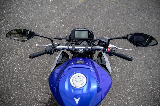 【ヤマハ MT-03 ABS 試乗記】強靭な足回りが全てを肯定してくれるバトルマシンの10画像