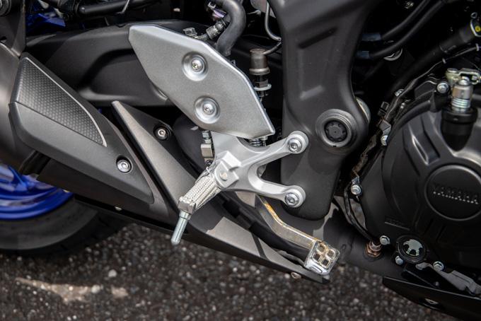 【ヤマハ MT-03 ABS 試乗記】強靭な足回りが全てを肯定してくれるバトルマシンの14画像