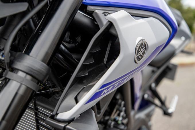 【ヤマハ MT-03 ABS 試乗記】強靭な足回りが全てを肯定してくれるバトルマシンの19画像