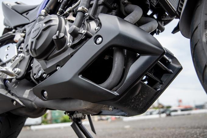 【ヤマハ MT-03 ABS 試乗記】強靭な足回りが全てを肯定してくれるバトルマシンの20画像