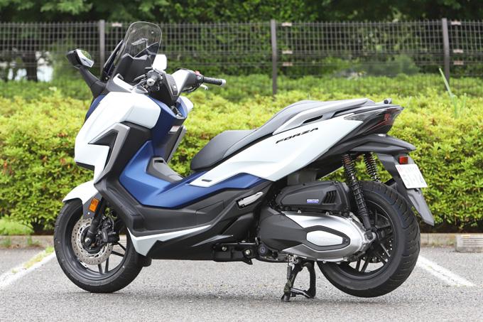【ホンダ フォルツァ 試乗記】250ccクラススクーターの雄が新エンジンとフレーム改良でモデルチェンジの04画像