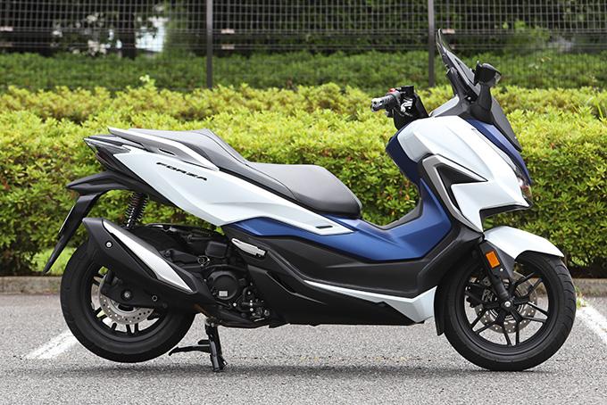 【ホンダ フォルツァ 試乗記】250ccクラススクーターの雄が新エンジンとフレーム改良でモデルチェンジの06画像
