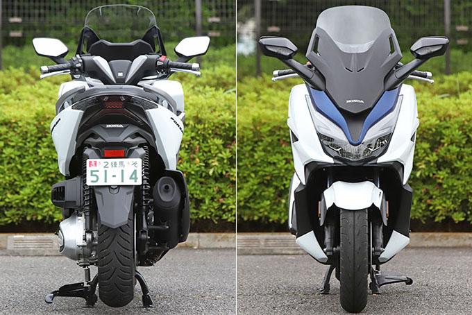 【ホンダ フォルツァ 試乗記】250ccクラススクーターの雄が新エンジンとフレーム改良でモデルチェンジの09画像