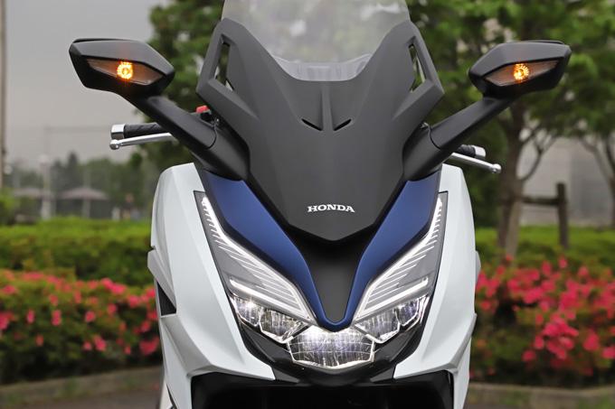 【ホンダ フォルツァ 試乗記】250ccクラススクーターの雄が新エンジンとフレーム改良でモデルチェンジの11画像