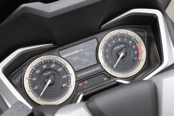 【ホンダ フォルツァ 試乗記】250ccクラススクーターの雄が新エンジンとフレーム改良でモデルチェンジの12画像