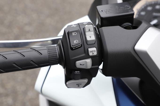 【ホンダ フォルツァ 試乗記】250ccクラススクーターの雄が新エンジンとフレーム改良でモデルチェンジの13画像