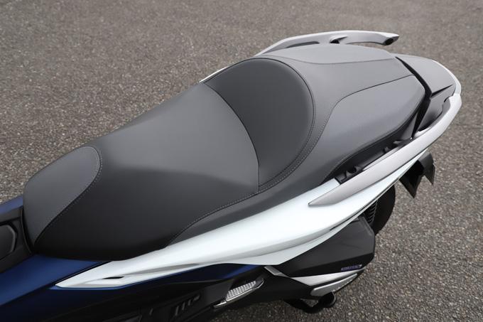 【ホンダ フォルツァ 試乗記】250ccクラススクーターの雄が新エンジンとフレーム改良でモデルチェンジの21画像