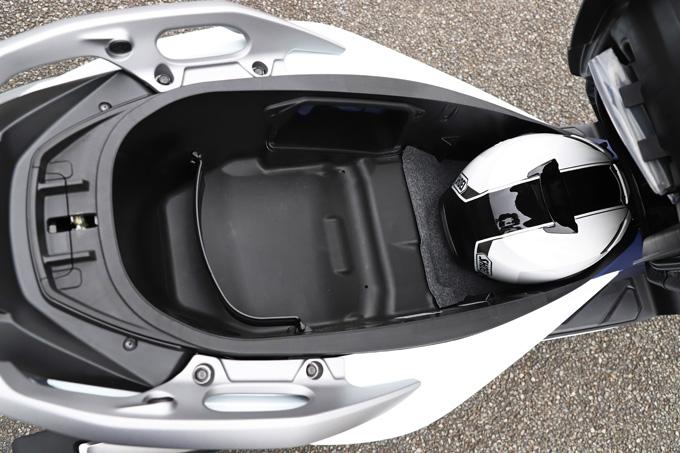 【ホンダ フォルツァ 試乗記】250ccクラススクーターの雄が新エンジンとフレーム改良でモデルチェンジの22画像