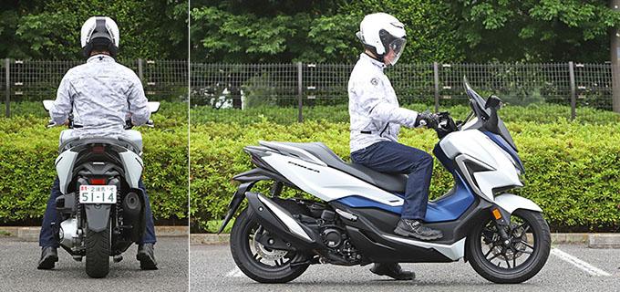 【ホンダ フォルツァ 試乗記】250ccクラススクーターの雄が新エンジンとフレーム改良でモデルチェンジの28画像