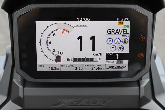 【ホンダ X-ADV 試乗記】走破性と利便性を兼ね備えた大型クロスオーバーモデルがフルモデルチェンジの13画像