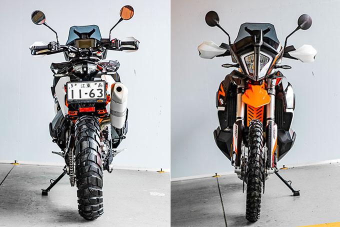 【KTM 890 ADVENTURE/R試乗記】パンチが増して林道トレックもより快適に、アドベンチャーを超えたガチオフ性能だ!の09画像