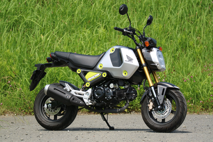 【ホンダ グロム 試乗記】日常が輝きだす! どこをどう走っても楽しいファンバイクの02画像