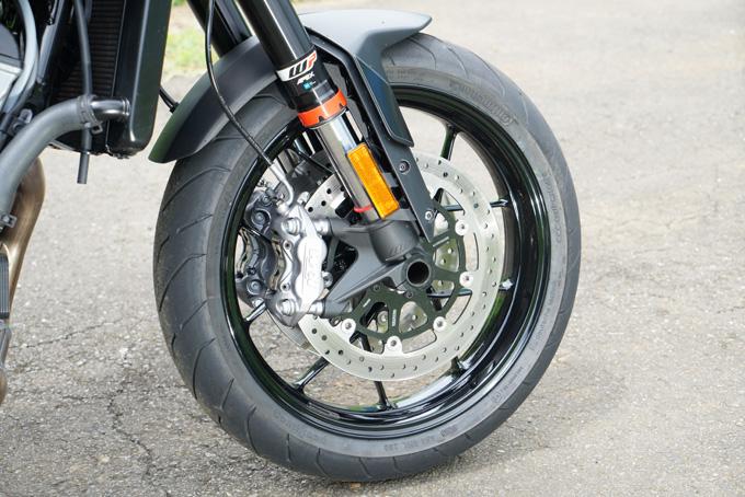 【KTM 890 DUKE 試乗記】とびきりのスポーツ性能と扱いやすさが共存の11画像